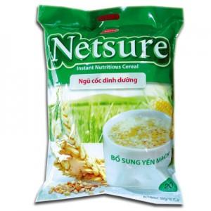 Bột ngũ cốc Netsure hương Yến Mạch túi 500g
