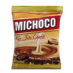 Kẹo cứng Michoco sữa cà phê túi 140 gam