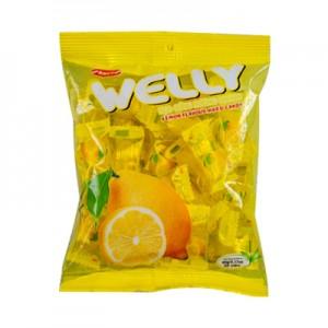 Kẹo cứng Welly Chanh túi 90 gam