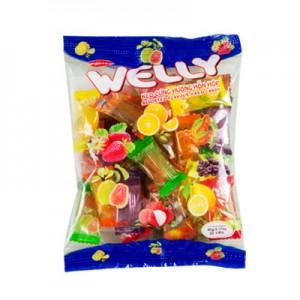 Kẹo cứng Welly hỗn hợp túi 90 gam
